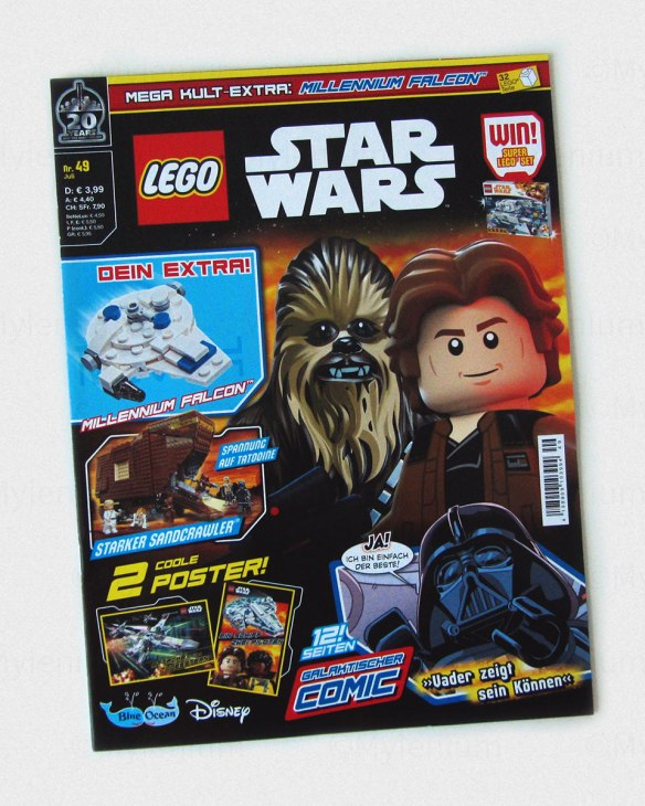 LEGO Magazine, Star Wars, July 2019, Cover