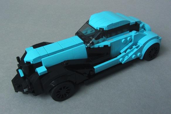 Classic Car MOC, Front Left View
