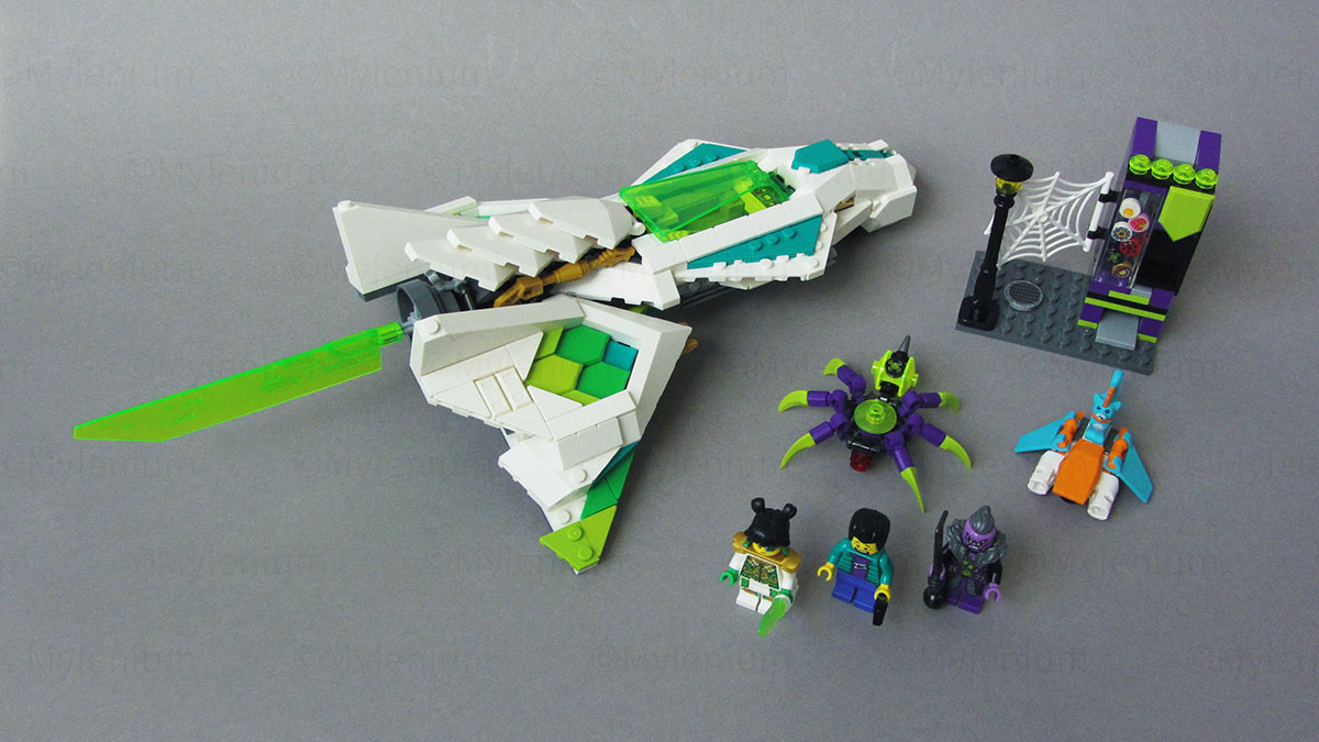 LEGO Monkie Kid, White Dragon Horse Jet (80020), Overview