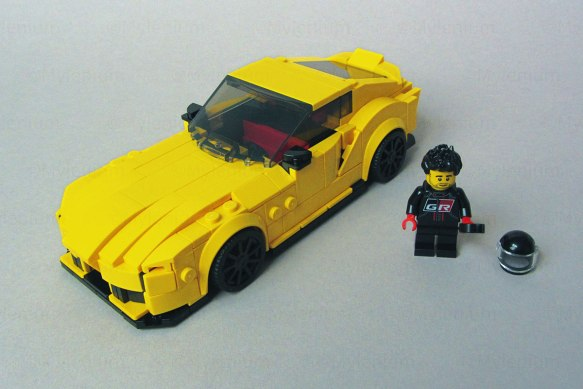 LEGO Speed Champions, Toyota GR Supra (76901), Overview
