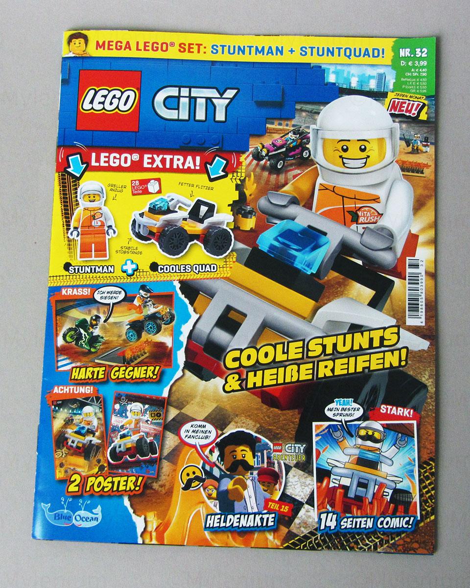 LEGO Magazine, City, September 2021, Cover
