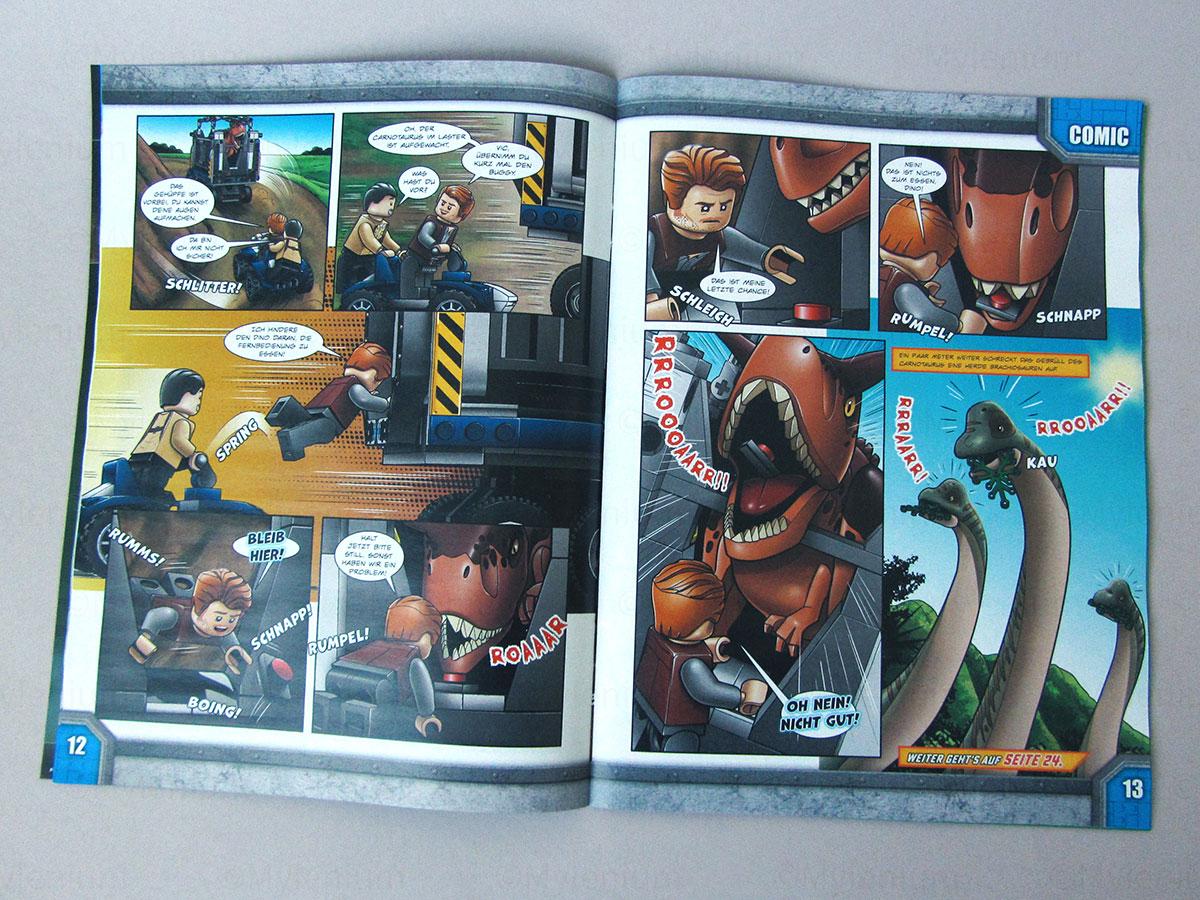 LEGO Magazine, Jurassic World, November 2021, Comic